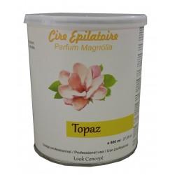 Pot 800 ml de cire à épiler - TOPAZ type MIEL