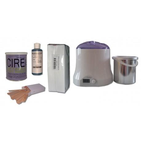 Cid Epil. Kit épilation 800 ml - CARE'S ROSE Pot 800 ml Cire jetable