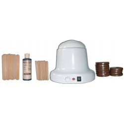 Kit 400ml Chocolat Cire Traditionnelle 200g Galets