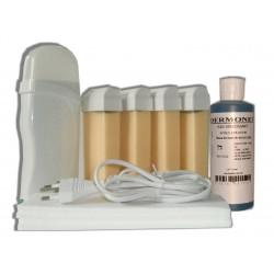 Kit épilation 4 x 100 ml - BLANCHE - Cire à épiler