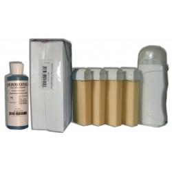 Kit Epil 4 x 100 ml - BLANCHE - Cire à épiler