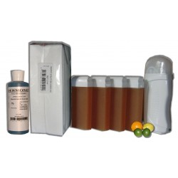 Kit Epil 4 x 100 ml - MIEL AGRUMES - Cire à épiler