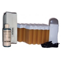 KIT EPILATION - 12 x 100ml - MIEL- Bandes