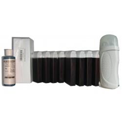 Kit épilation 12 x100 ml - FRUITS ROUGES - Cire à épiler