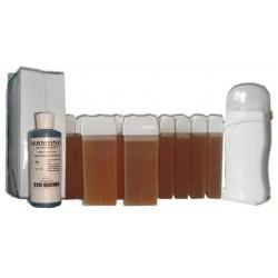 Kit épilation 12 x 100 ml - TOPAZ - Cire à épiler