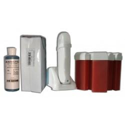 Kit épilation UNO - 6 x 100 ml - FRUITS ROUGES - Cire à épiler