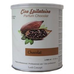 Pot 800 ml de cire à épiler - Chocolat