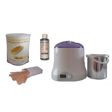 Cid Epil Kit épilation cire pelable BLONDE - Pot de 800 ml