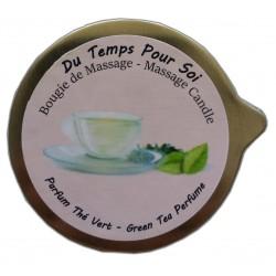 Thé vert 150 g - Bougie de massage