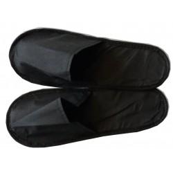 200 paires de mules noires (chaussons) spécial soins cabine