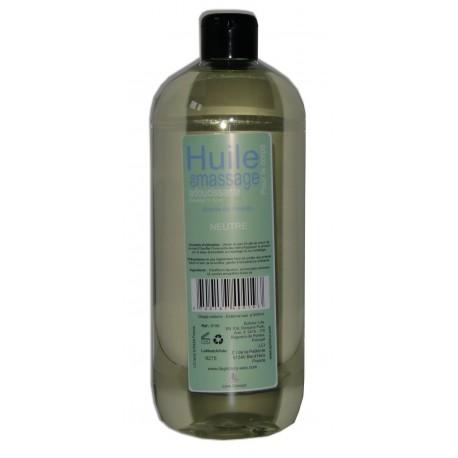 Huile de massage adoucissante PRO - Neutre - 1 litre