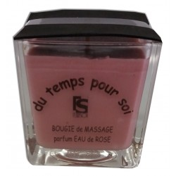 Eau de Rose - 210 g - Bougie de massage Argan