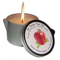 Bougie de massage parfumée à la pomme d'amour