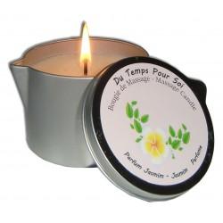 Bougie de massage parfumée au jasmin