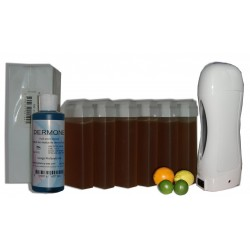 Agrumes Miel - SOLOR - Kit 6 x 100 ml - 250 bandes