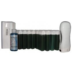 Chlorophylle - SOLOR - Kit 12 x 100ml cire à épiler