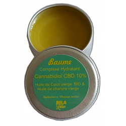 Baume lèvres, hydratant CBD 10 %, 15 ml