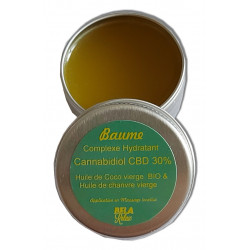 Baume hydratant CBD 30 %, lèvres, 15 ml