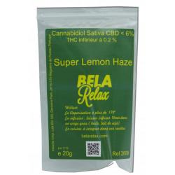 Super Lemon Haze des Fleurs CBD cultivées en Indoor