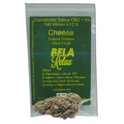 Cheese 1g Fleur CBD cultivée en bio en Suisse