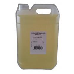 Monoï - Adoucissante - huile de massage - 5 L