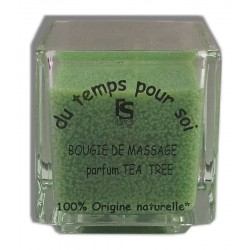 Tea tree - 60 g - Restructurante - Bougie de massage