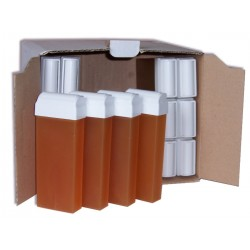 Pack 24 x 100 ml - Cire à épiler jetable Miel